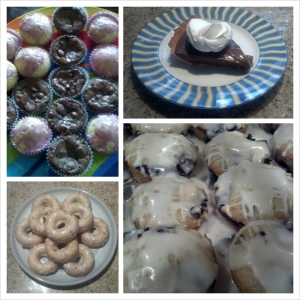 food finished product husband proverbs thirty-one 31 doughnuts bo-berry boberry homemade bake baking gluten dairy free law success
